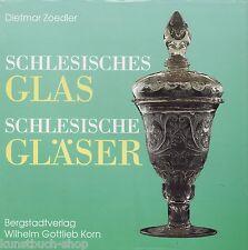 Fachbuch Schlesisches Glas, Gläser aus Schlesien, NEU und OVP, STATT 35 Euro