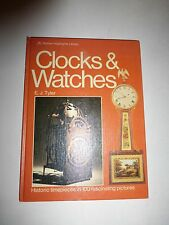 CLOCKS AND WATCHES, GOLDEN PRESS BY E.J. TYLER EXCELLENT CLEAN 80 PAGES B164