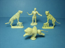 4  FIGURINES 1/43  SET 210  CIRQUE  PINDER   LES  FAUVES   VROOM  A  PEINDRE