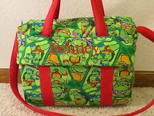 Teenage Mutant Ninja Turtle custom handmade Diaper Bag w/chg pad by EMIJANE