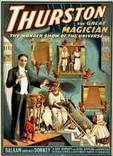 Thurston 6 1914 A4 Photo Print Magic Magician Vintage