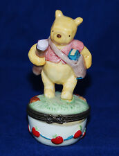 Retired Midwest Cannon Falls Disney Winnie the Pooh Hinged Pill Trinket Box