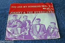 Johnny and The Hurricanes 1960 Big Top 45rpm You Are My Sunshine b/w Molly-O