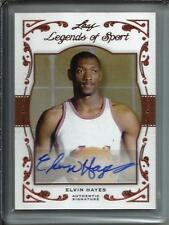 Elvin Hayes 2011 Leaf Legends of Sport Autograph #05/15