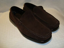 DL for CERTO Brown Suede Style 2135 Driving Shoes 10.5 EUC