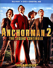 Anchorman 2(Blu-ray, 2014, Audio English, Francais & Espanol)