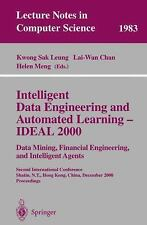 Intelligent Data Engineering and Automated Learning - IDEAL 2000. Data Mining, F