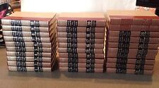 Vintage Funk and Wagnalls New Encyclopedia Set 1986 - Red/Gold Gilt Spines