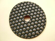 "Dry Diamond polishing pad 100mm (4"") 100 grit coarse. Granite,glass,marble etc."