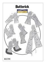 Butterick Costume SEWING PATTERN B6398 To Make Misses Historical Gloves