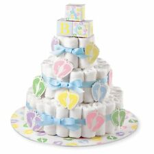 Diaper Cake Kit Baby Shower Bake Boy Girl Stand Party Decoration Mom Table Piece