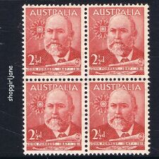 1949 - Australia - Lord John Forrest of Bunbury - block of 4 - MNH