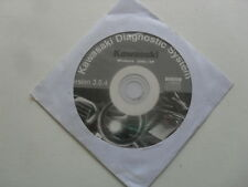 NEW GENUINE KAWASAKI DIAGNOSTIC SYSTEM SOFTWARE CD DISC VERSION 3.0.4 KDS 3 E