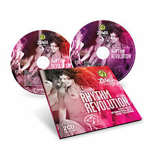 *sale* ZUMBA Rhythm Revolution CD Set MUSIC CD ZUMBA MUSIC ZUMBA SOUNDTRACK CD