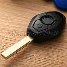 Replacement Car Key Shell Case Keyless Entry Remote Fob 2 Button Cover For BMW