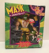 """The mask animated series 12"""" inch figure boxed tournant """"torse action toy island"""