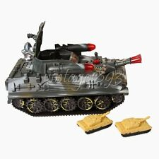 New Electric Luminescence Tank Educational Military Model Toy
