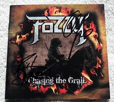 Fozzy Chasing The Grail CD Signed by Rich Ward & Chris Jericho WWE