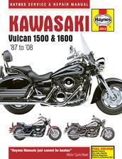 Haynes Manual 4913 - Kawasaki Vulcan 1500 & 1600 (87-08) Service/Workshop/Repair