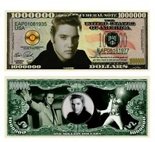 50 Factory Fresh Elvis Presley Million Dollar Bills