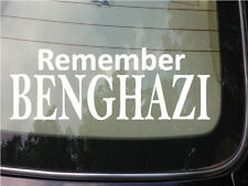 Remember Benghazi sticker tea party anti obama clinton conservative liberal 2a