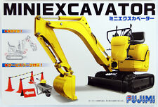 Fujimi GT24 011776 Garage & Tool Series Mini Excavator 1/32 Scale Kit