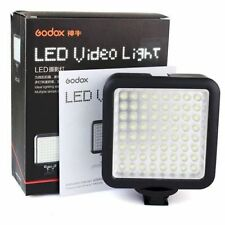 Godox LED 64 Video Lamp bright Light for Portable Digital Camera Camcorder DV