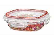 RUBBERMAID 1.25 CUP LOCK ITS 1778065  NEW SQUARE PLASTIC FOOD STORAGE CONTAINER