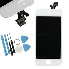 White LCD Touch Screen Display Digitizer Full Assembly Replacement for iPhone 5