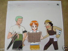 ONE PIECE NANA ZORO ANIME PRODUCTION CEL
