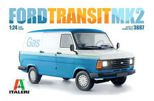 Ford Transit MK2 Ford Transit Van Mark 2 1:24 Scale Plastic Model Kit By Italeri