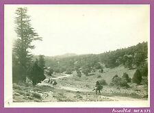 PHOTO ANCIENNE DU MAROC : PAYSAGE PROCHE DE BOUDNIB VERS 1900 -A171