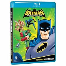 BATMAN : BRAVE AND THE BOLD - SEASON 1  - Blu Ray - Sealed & Region free for UK