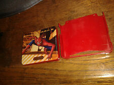* Nintendo GameBoy Advance SP HARD SHELL CASE - RED - SPIDERMAN 2  * NEW RARE