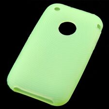 Green Silicon Case for iPhone 2G 3G