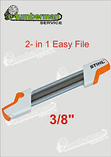 "Genuine Stihl 2 in 1 EASY file MOTOSEGA affilatura 5,2 mm per 3/8 ""Catena"