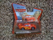 Cars2 Lightning McQueen with Racing Wheels + 4 Pencils / Diecast Toy Disney Kids