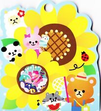 71X Kawaii Summer Animals Flake Stickers Sack Cute Alpaca Japanese Stationery
