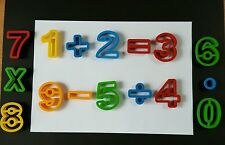 Playdoh dough Number tools. Pack of 16 pieces.