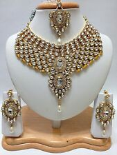 Indian Asian Bridal Jewellery Bollywood Fashion Party Ethnic Wear Necklace Set