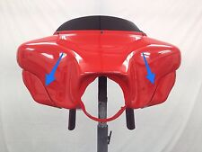 BAGGER WINDSHIELD AIR DEFLECTOR HARLEY ELECTRA STREET ULTRA GLIDE FAIRING WING