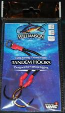 Williamson Lures Tandem Assist Hooks TH-XL 5/0 - 7/0 VMC Hooks Vertical Jigging