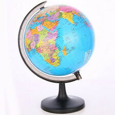 Mini World Globe Country Map Sphere Tellurion Swivel Stand Geography Educational