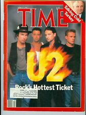 MAGAZINE TIME  U 2    BONO   BAND   APRIL 27 1987