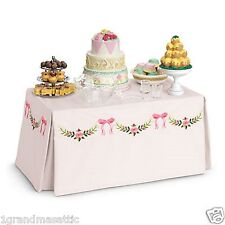 American Girl Banquet Table & Treats NIB NRFB Marie Grace Cecile Felicity MYAG