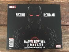 Sen-Ti-Nel RE:EDIT Marvel Iron Man Black and Gold Version Japan Import