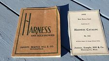 1935 Harness Catalog Horse Equestrian Saddle Harness Halter Tack Accessories