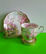 Vintage Royal Albert Blossom Time Mini Tea Cup and Saucer Hampton Style Cup EUC