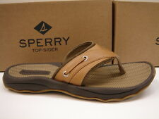 SPERRY TOP SIDER MENS SANDALS OUTER BANKS THONG TAN SIZE 11