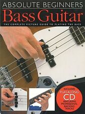 Absolute Beginners Bass Guitar (with CD); Mulford, Phil, FMW - AM92616